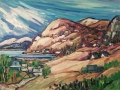splendor of the Saguenay river 30x 40